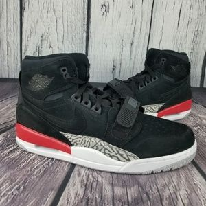 Air Jordan Legacy 312 Black Fire Red
